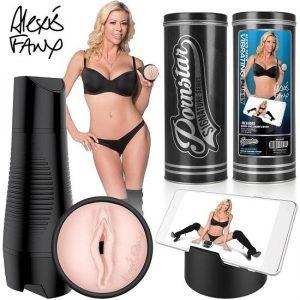 Pornstar Signature Series Alexis Fawx Rechargeable Vibrating Pussy Stroker