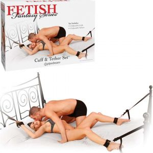 Fetish Fantasy Cuff And Tether Set